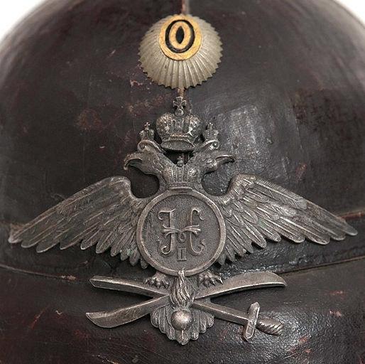 Шлем воздухоплавательных частей, Российская Империя (Фото 3)