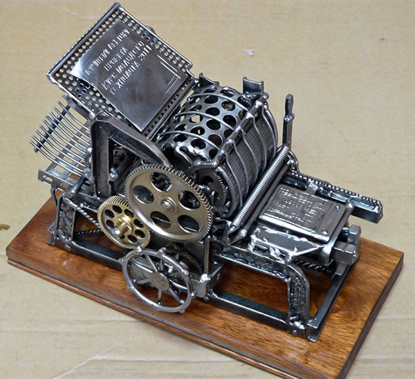 Печатный станок R. Hoe & Co