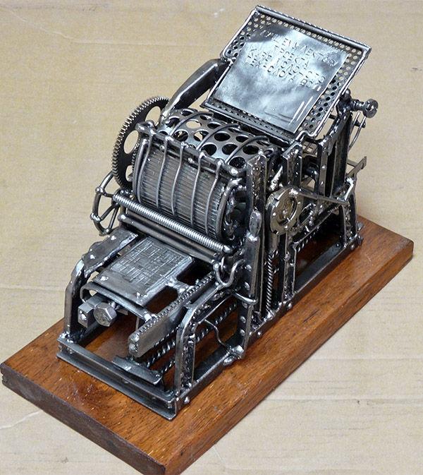 Печатный станок R. Hoe & Co (Фото 2)