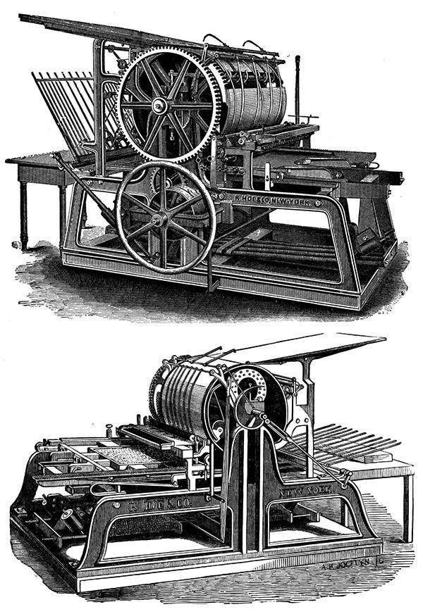 Печатный станок R. Hoe & Co (Фото 4)