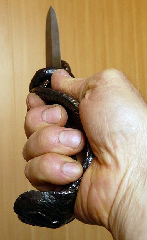 Рукоять трости с кинжалом (Фото 4)