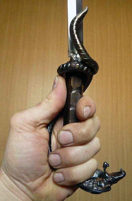 Рукоять трости с кинжалом (Фото 5)
