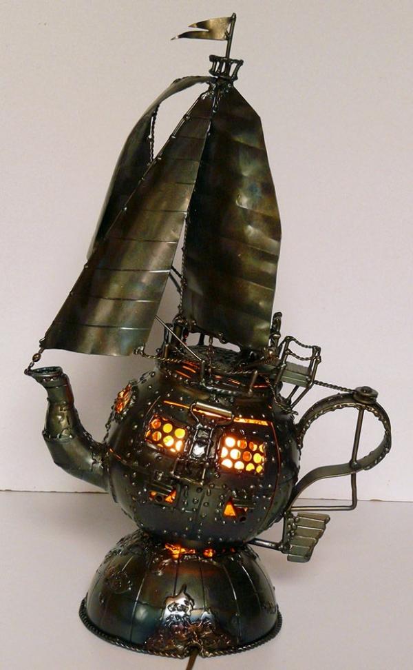 На всех парах и парусах - в металле (Фото 3)