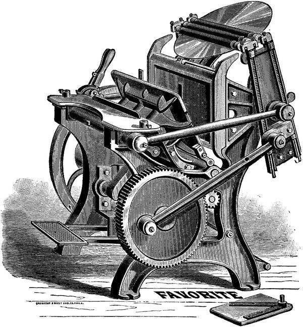 Печатный станок Chandler & Price (Фото 2)