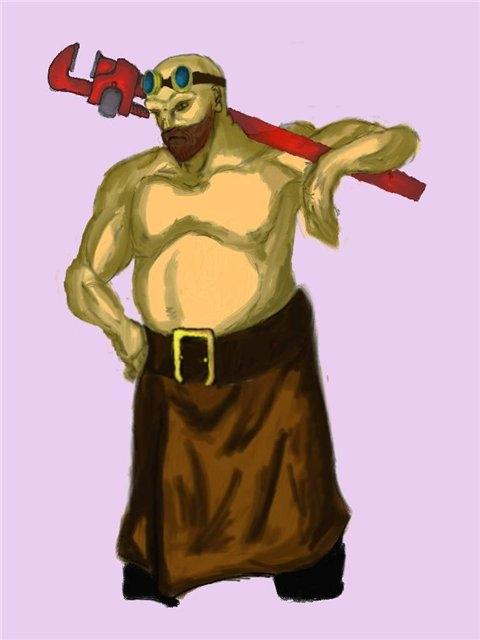 Концепт-арт персонажа вселенной Викториум. Владко Ковач. (Фото 4)