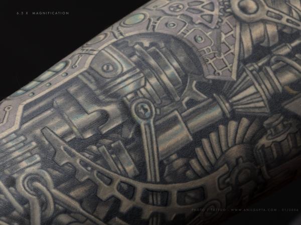 Biomechanical tattoo style (Фото 3)