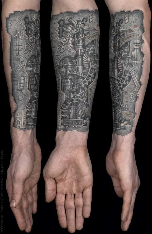 Biomechanical tattoo style (Фото 2)