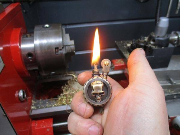 Зажигалка Черепок (N11)
