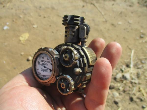 Зажигалка N28 Радиация-V2
