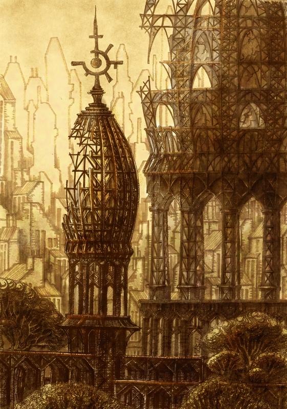Пять архитектурных зарисовок (Фото 3)