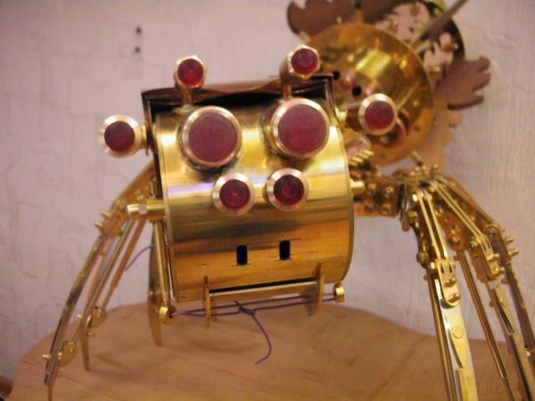 Moskito v4.0 (паро-паук настольная лампа) часть 2 (Фото 40)
