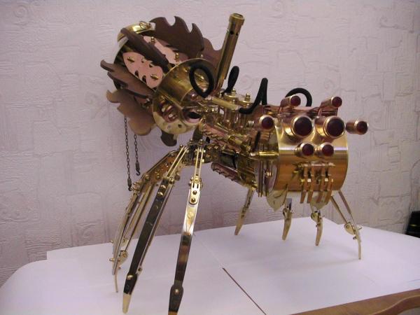 Moskito v4.0 (паро-паук настольная лампа) часть 2 (Фото 46)