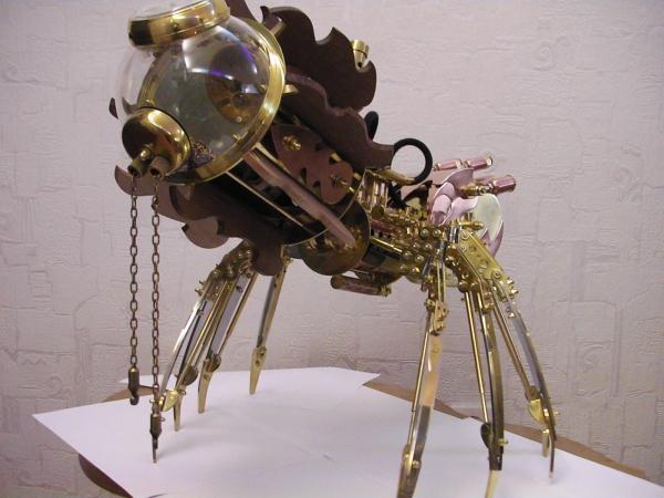 Moskito v4.0 (паро-паук настольная лампа) часть 2 (Фото 48)