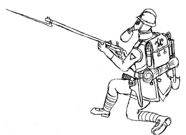 стрелок союзников