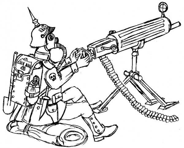 пулеметчик Вильгельма