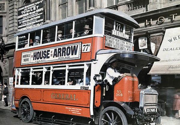 Цветная Англия 1928 год. (Фото 7)