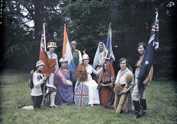 Цветная Англия 1928 год. (Фото 14)