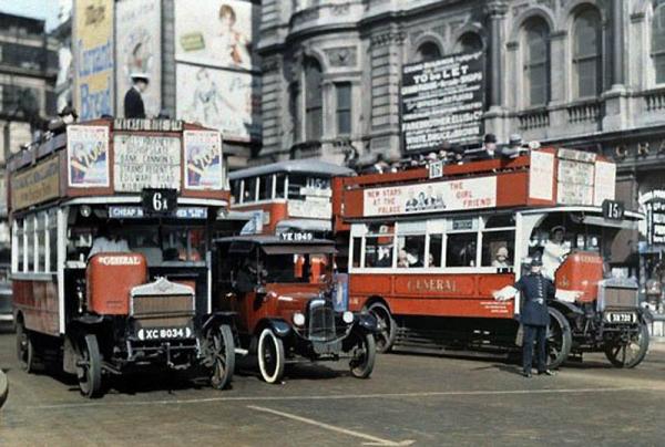 Цветная Англия 1928 год.