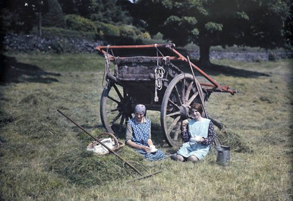 Цветная Англия 1928 год. (Фото 5)