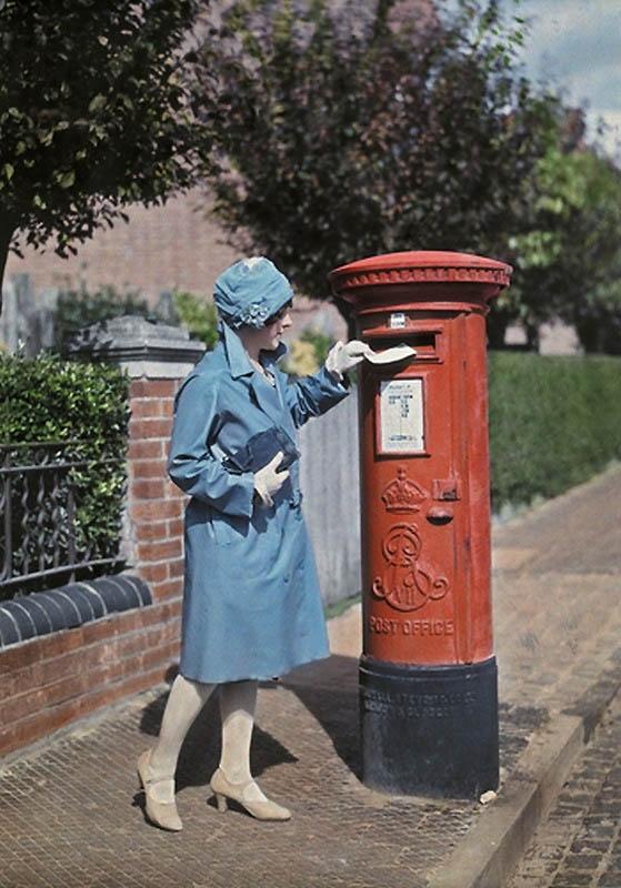Цветная Англия 1928 год. (Фото 9)