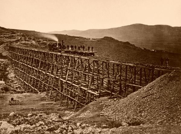 Фотографии железных дорог США (Фото 17)