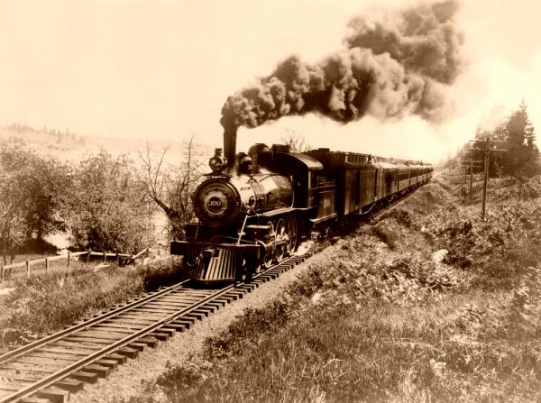 Фотографии железных дорог США (Фото 19)