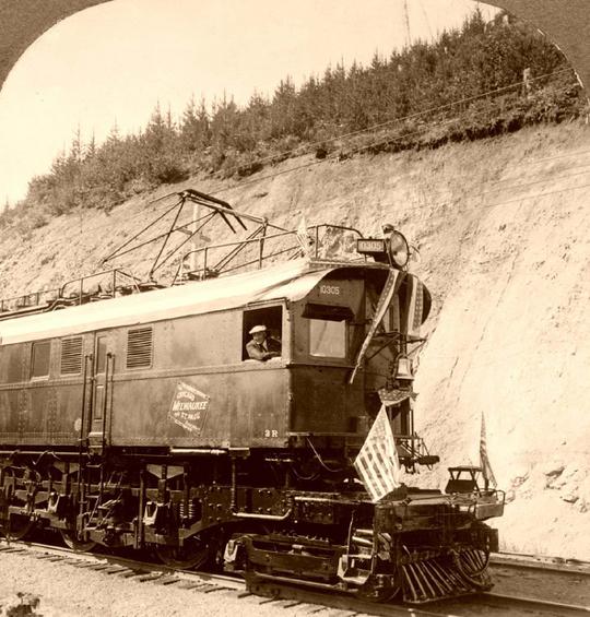 Фотографии железных дорог США (Фото 8)