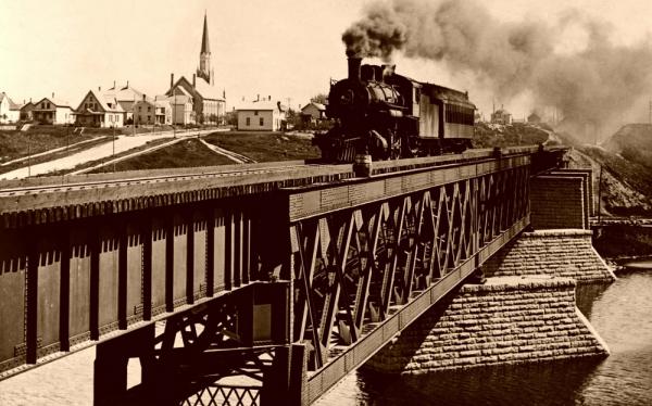 Фотографии железных дорог США (Фото 18)