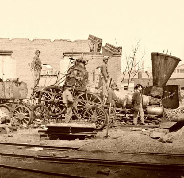 Фотографии железных дорог США (Фото 12)
