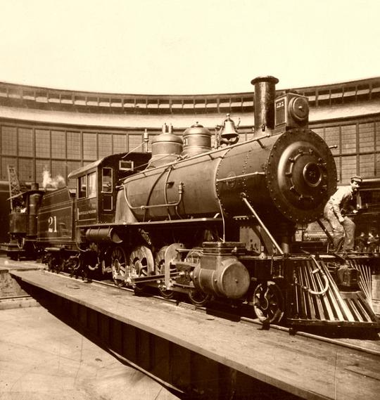 Фотографии железных дорог США (Фото 9)