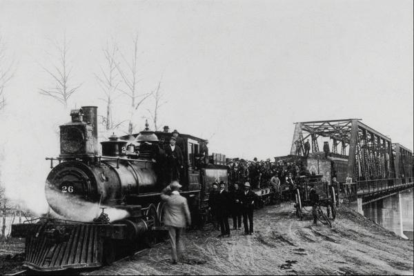 Канадские железные дороги. (Фото 4)