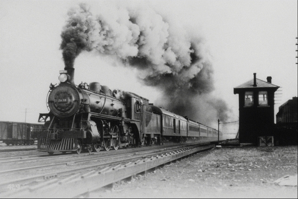 Канадские железные дороги. (Фото 2)