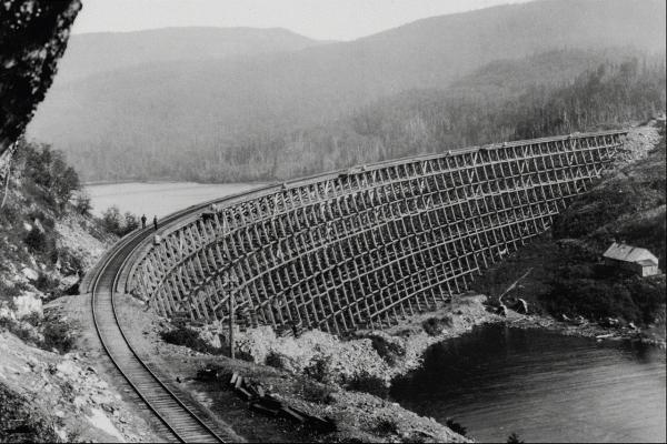 Канадские железные дороги. (Фото 15)