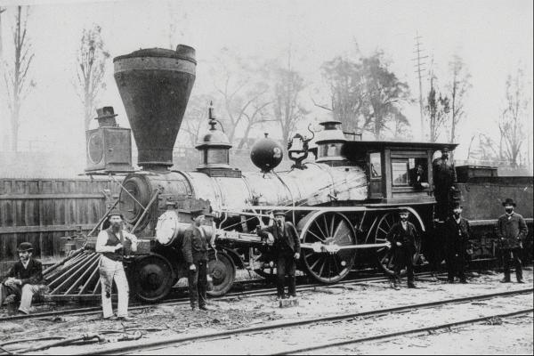 Канадские железные дороги. (Фото 16)