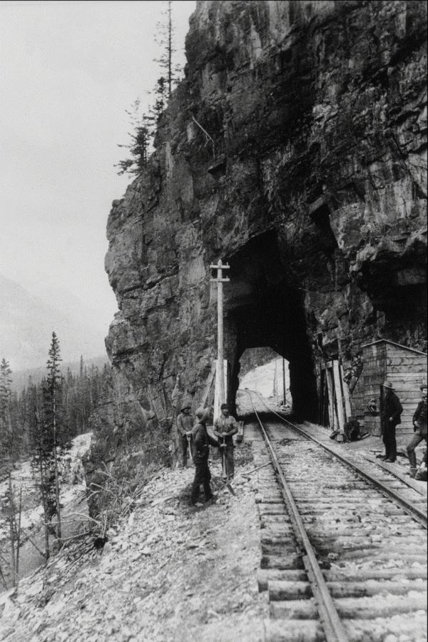 Канадские железные дороги. (Фото 10)