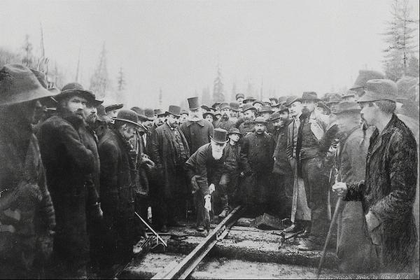 Канадские железные дороги. (Фото 19)
