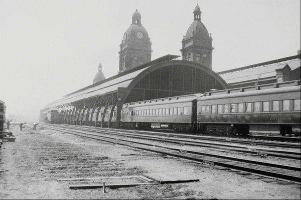 Канадские железные дороги. (Фото 12)