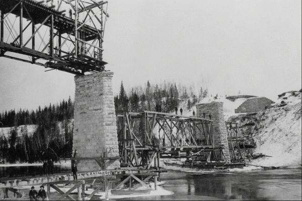 Канадские железные дороги. (Фото 8)