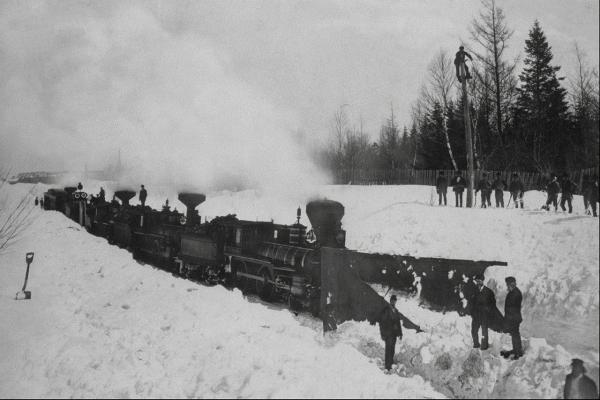 Канадские железные дороги. (Фото 20)