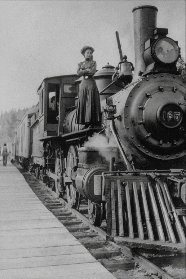 Канадские железные дороги.