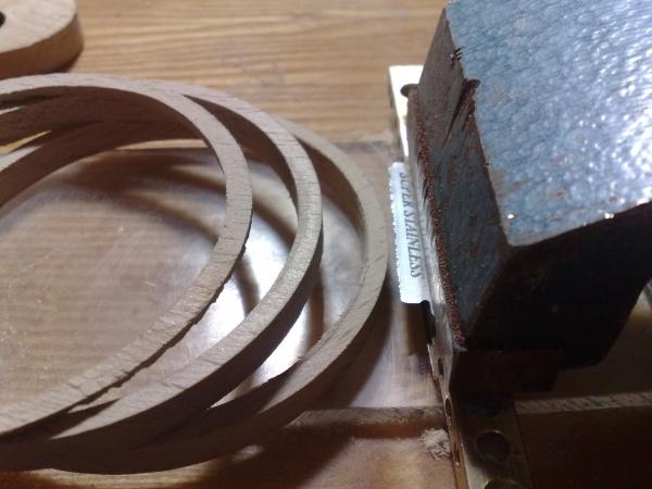 Фотографии (деревянные кольца)