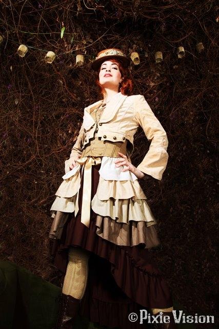 Felicia Day и Neo-Victorian Steampunk (Фото 4)