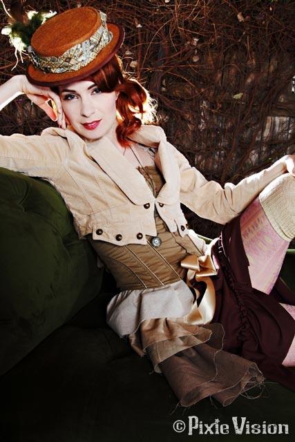 Felicia Day и Neo-Victorian Steampunk (Фото 5)