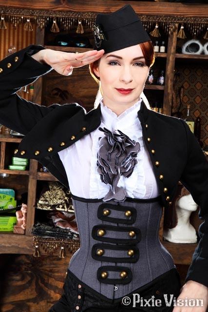 Felicia Day и Neo-Victorian Steampunk (Фото 11)