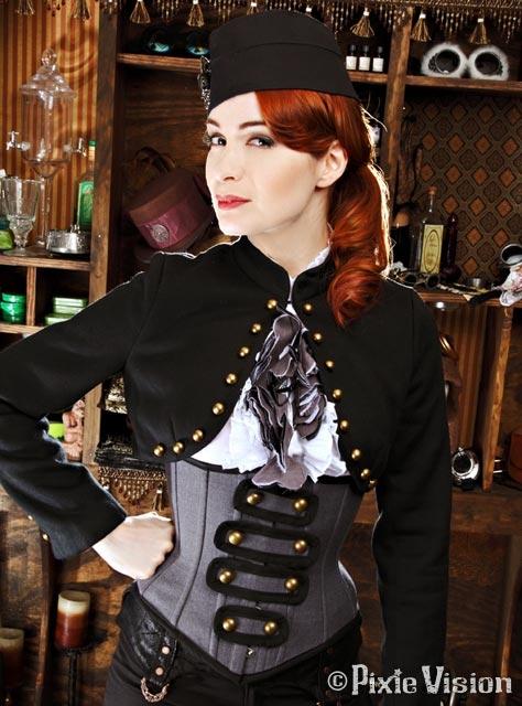 Felicia Day и Neo-Victorian Steampunk (Фото 13)