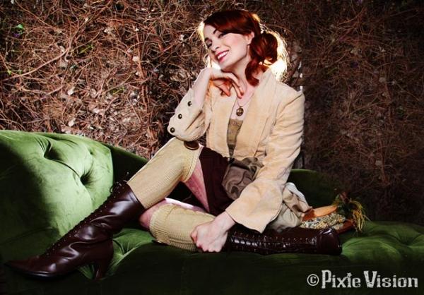 Felicia Day и Neo-Victorian Steampunk (Фото 7)