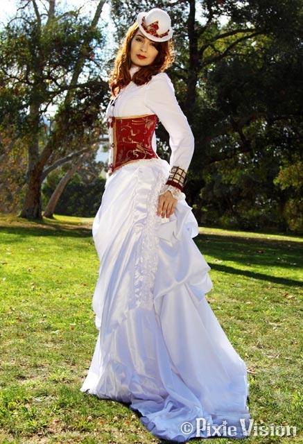 Felicia Day и Neo-Victorian Steampunk (Фото 14)