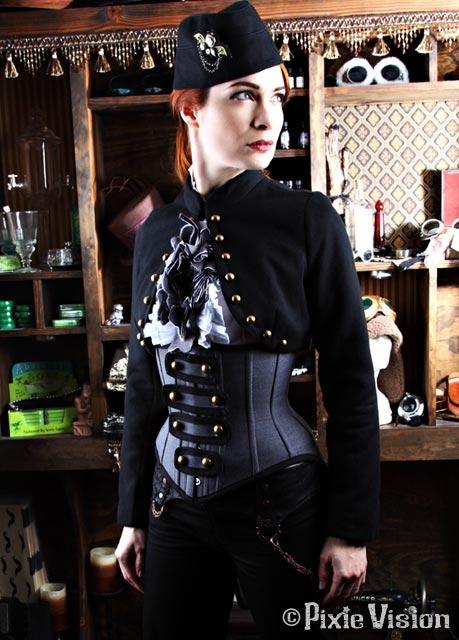 Felicia Day и Neo-Victorian Steampunk (Фото 12)