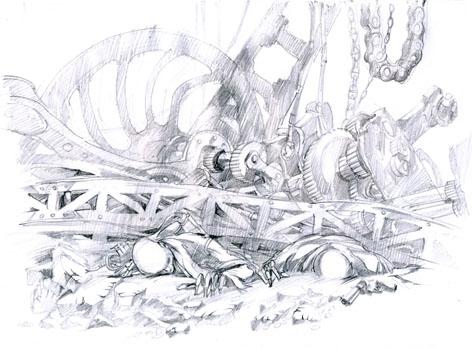 графический стимпанк (некро) (Фото 4)