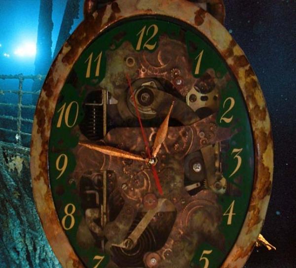 """Часы с """"Титаника"""""""